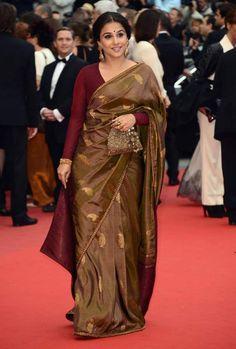 #VidyaBalan at Cannes - Day 4