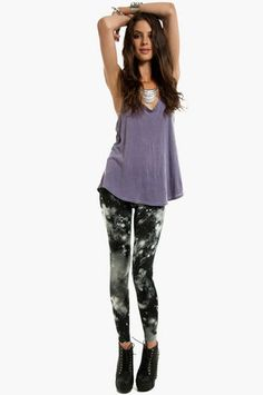 Stardust Leggings $30 at www.tobi.com