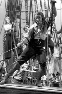 'Captain Blood' (Errol Flynn, 1935).