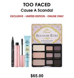 Too Faced Cause a Scandal Collection- Gorgeous!