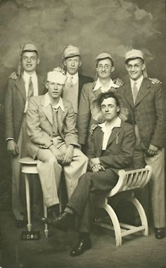 My uncle and friends in Cairo in the 1930s