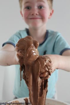 DIY Chocolate Goop recipe for kids | Paging Fun Mums