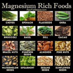 Natural Cures Not Medicine: Magnesium rich foods