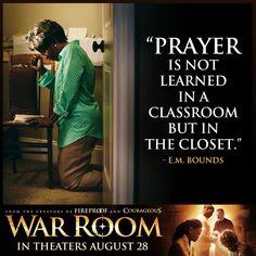 """Prayer is not learned..."