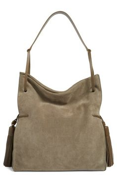 ALLSAINTS ALLSAINTS 'Freedom' Suede Hobo available at #Nordstrom