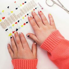 Junior Jamberry Nails! Up to 8-9 years old.   http://jhendrix.jamberrynails.net