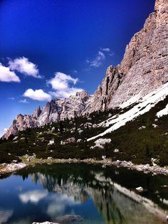 Lago Lagazuoi, Dolomiti - Italia