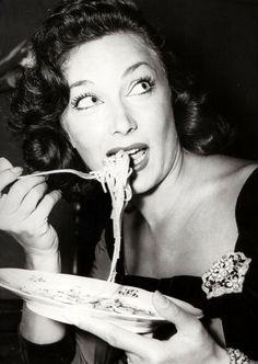 Vintage spaghetti gaze