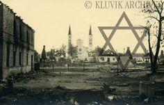 Rietavas destruction, Lithuania Summer 1941 - KLUVIK ARCHIVES