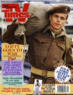 TVTimes Central and Channel Four April 1989 Time Magazine, Magazine Covers, Battle Dress, Tv Times, Vintage Tv, Tv Guide, Do You Remember, Tv On The Radio, Old Pictures