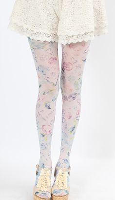 Cute Harajuku FairyKei jewel tights