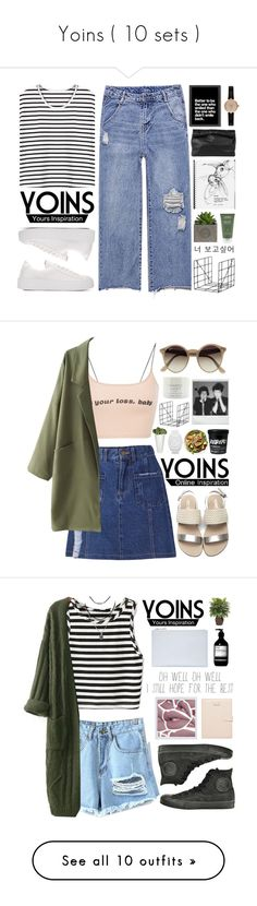 """""""Yoins ( 10 sets )"""" by mia5056 ❤ liked on Polyvore featuring Americanflat, Barbour, Aveda, ferm LIVING, Marie Turnor, yoins, yoinscollection, loveyoins, Eichholtz and adidas Originals"""