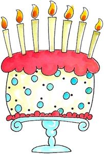 Birthday Cake Illustration Quotes Images Happy Celebration