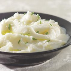 Our savory cauliflower puree makes a perfect low-carb stand-in for mashed potatoes. It gets its fabulous flavor from garlic, buttermilk and a touch of butter and, best of all, it has about one-quarter of the calories of typical mashed potatoes. If you like, vary it by adding shredded low-fat cheese or chopped fresh herbs.