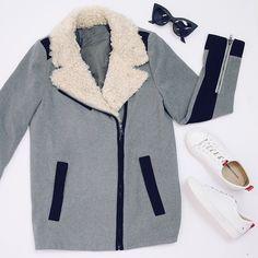Campbell Jacket - Grey