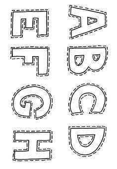 Ribambelle de Pâques. L'alphabet à imprimer et à colorier.