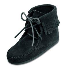 Minnetonka Tramper Boot - Black