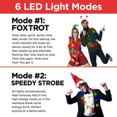 f95f1ce2b0 No need for Rudolph to guide Santa's sleigh when your LED Light Up Christmas  Bulb Necklace glows so bright!