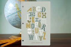 Alphabet- letters- from minted