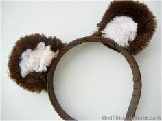 Make Your Own Animal Ears - {The Ribbon Retreat Blog}