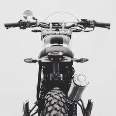 #bornmotor #tracker #motorcycle #custom #scrambler #caferacer #motorbike #ride #tank #steel #build #bespoke #handmade #bikers #supertrapp #exhaust#LTmoto
