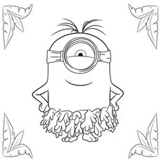 More Information Minion Coloring Pages Find This Pin And