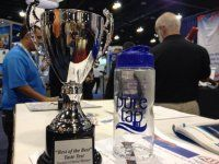 "First it was football, then basketball and now water! Louisville Pure tap® voted the 2013 ""people's choice"" for best tasting tap water in North America at the American Water Works Association!"