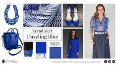 A pantone já lançou a cor do verão 2014, o Dazzling Blue. Um azul forte e marcante para encantar a estação com sua vibração e passividade.  Inspire-se nessa cor que é puro encanto.