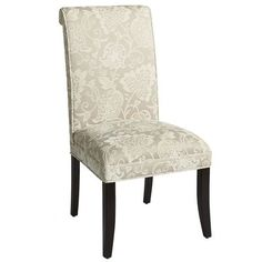 Dining chair? Ha, nope its a chair for my bedroom table! Angela Deluxe Dining Chair - Ivory Leaves