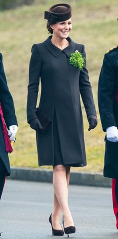 Kate Middleton Wears Brown at St. Patrick's Day Parade  #InStyle