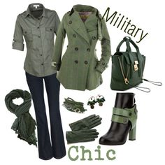 Military Chic - Polyvore