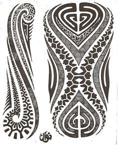 Maori tattoo kirituhi Polinesia Polynesian Tatuaje | by Tatuagem Polinésia - Tattoo Maori
