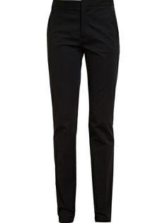 JIL SANDER - Stretch Cotton-Twill Trousers 4