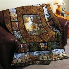 Woodlands Quilt Kit By Bear Creek | Quilting | Pinterest | Shops ... : hunting themed quilt patterns - Adamdwight.com