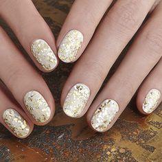 #nail #glitter #manucure #paillette