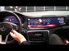 Inside the QNX cars at CES 2014
