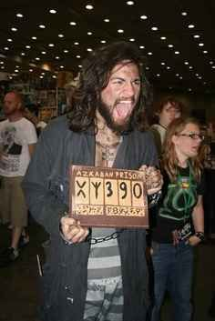 Sirius Black, Harry Potter and the Prisoner of Azkaban | 17 Awesome Literary Halloween Costumes