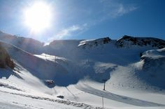 Aussois resort  Fournache slope