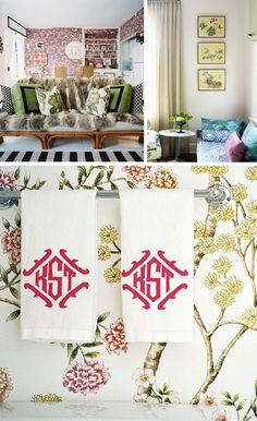 Bringing the Garden Indoors - Decorating with Florals