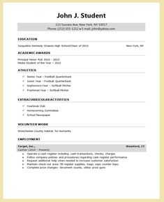Curriculum Vitae Template Free Download South Africa Free Cv