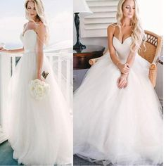 2017 New Simple Sweetheart Ball Gown Modest Wedding Dresses. AB061