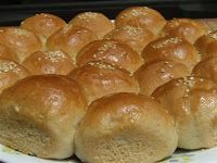 Soft, fluffy, bite size bread rolls are ideal for kids' lunch box and snack time. Slather with butter or jam and enjoy