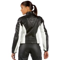 Dainese Womens SF Leather Motorcycle Jacket