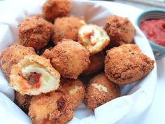 Croquettes de pomme de terre et ketchup maison - La Polygraphe