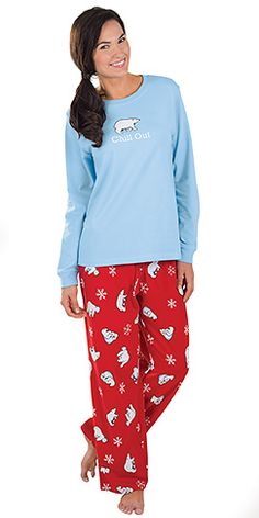 """''Chill Out"""" Pajamas for Women"""