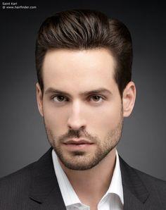 precision haircut for men