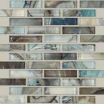 00450 MICA Mercury glass tile for backsplash