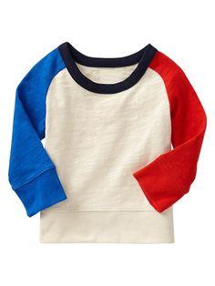Paddington Bear™ for babyGap colorblock raglan pullover | Gap