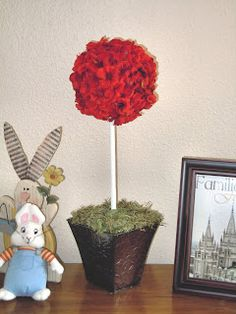 Punched paper flower topiary egg easter pinterest topiary punched paper flower topiary egg easter pinterest topiary topiary trees and crafts mightylinksfo