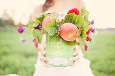 Peachy arrangement